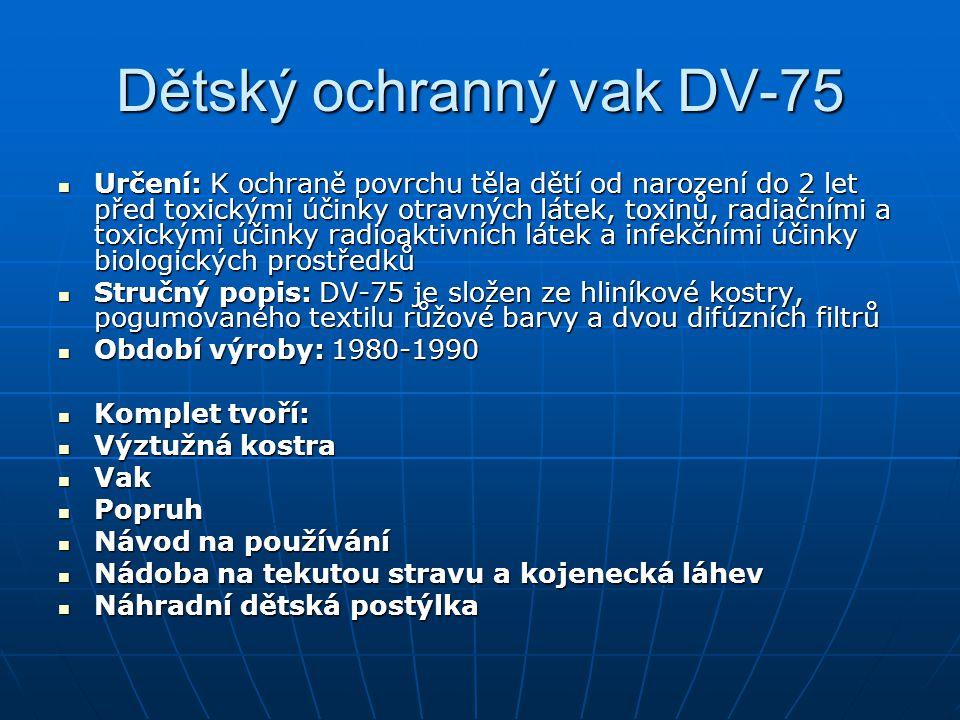 Dětský ochranný vak DV-75