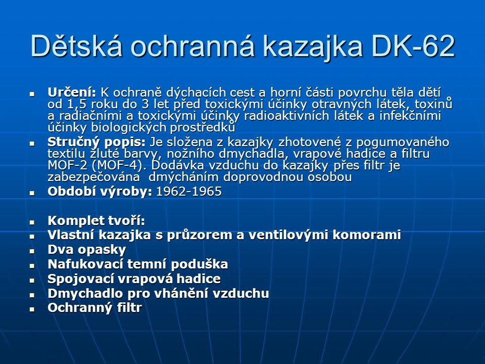 Dětská ochranná kazajka DK-62