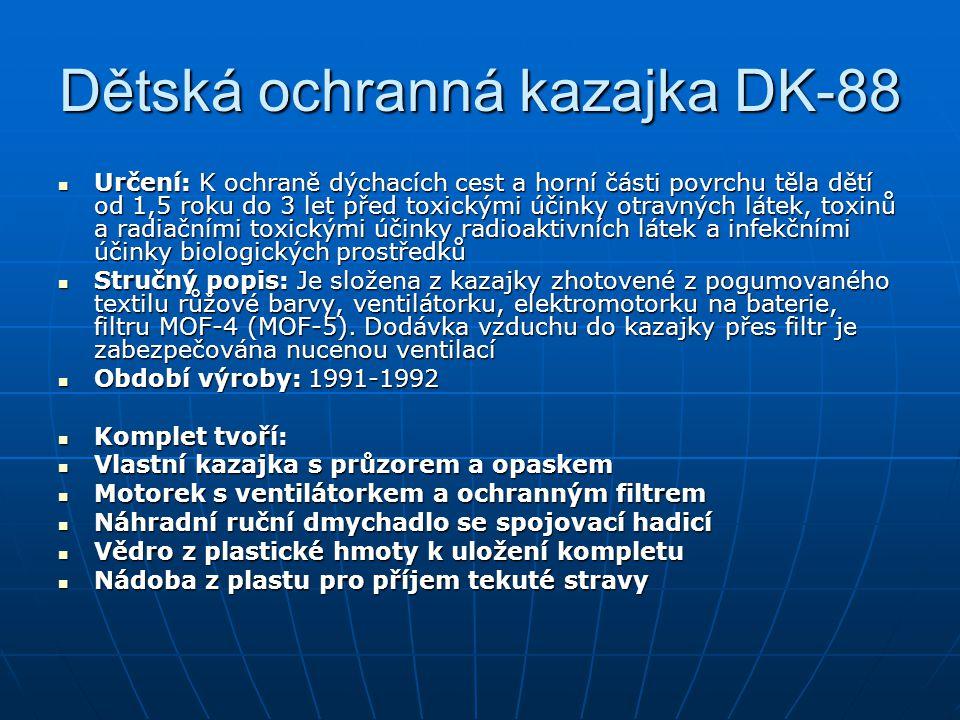 Dětská ochranná kazajka DK-88