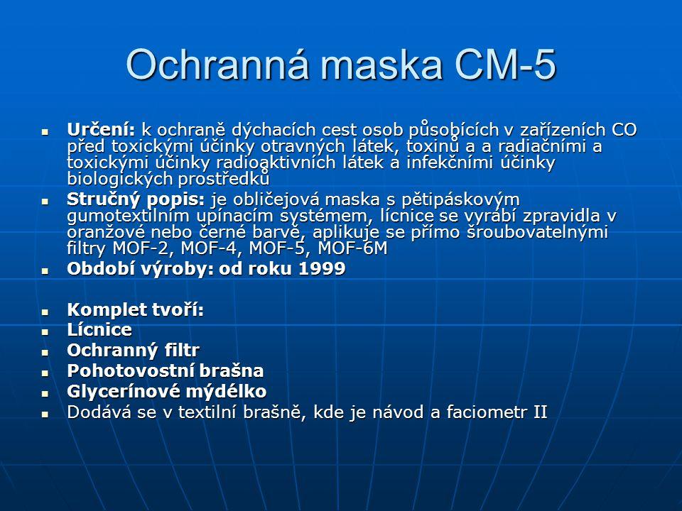 Ochranná maska CM-5