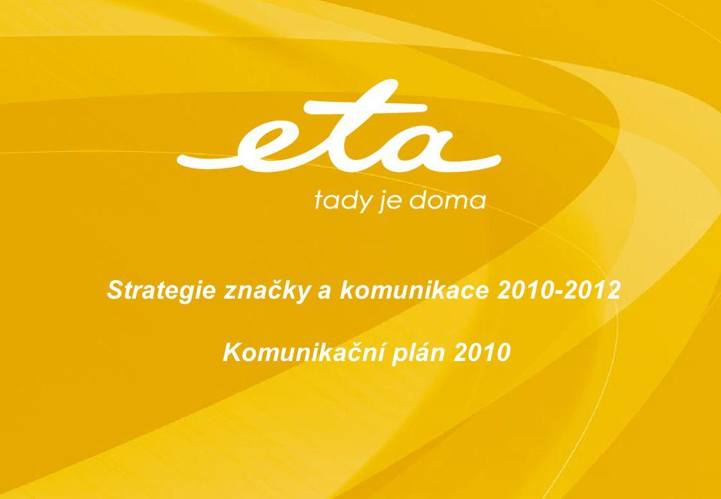 Strategie značky a komunikace 2010-2012
