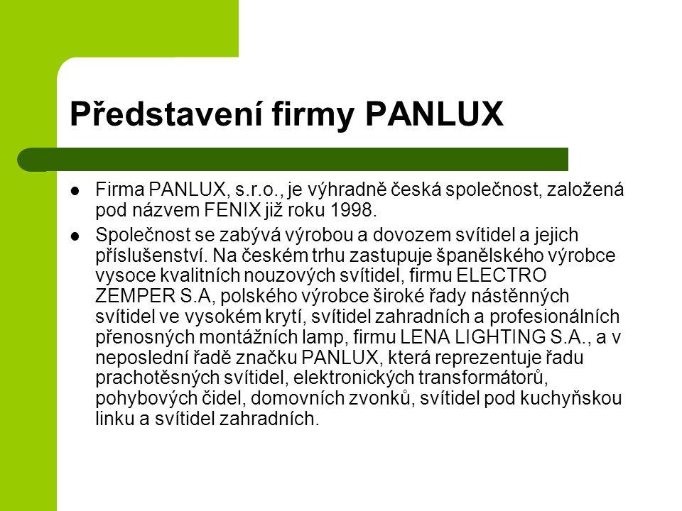 Představení firmy PANLUX