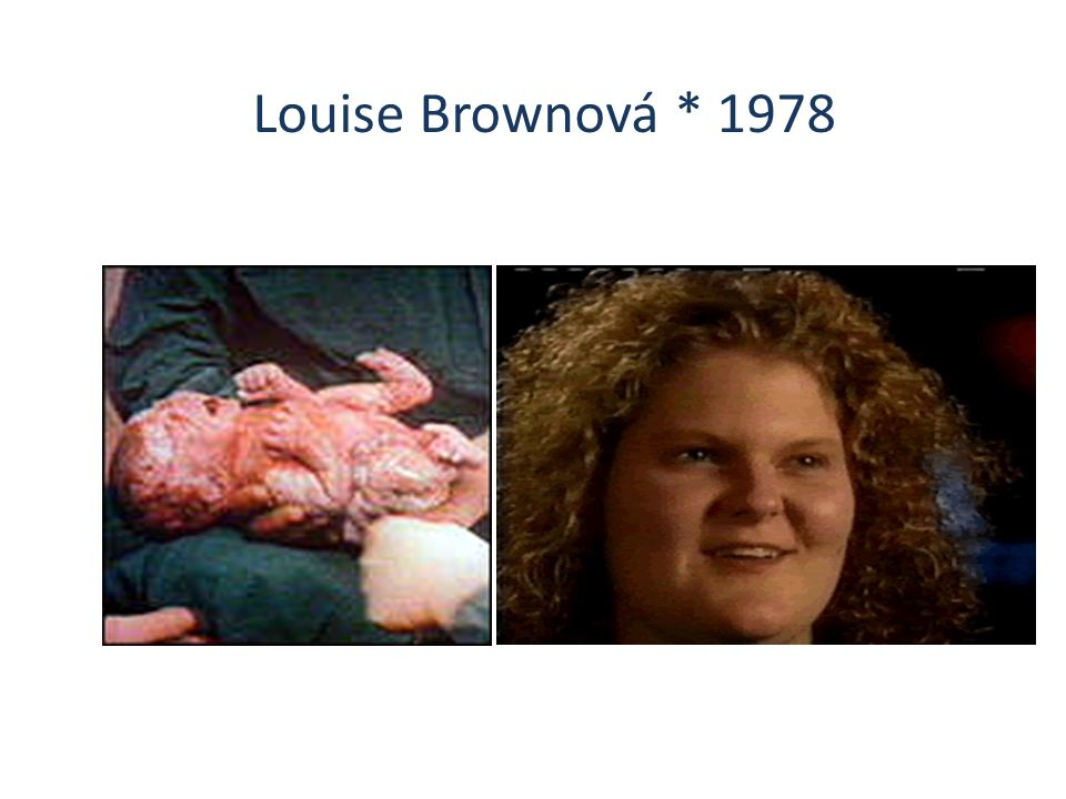 Louise Brownová * 1978