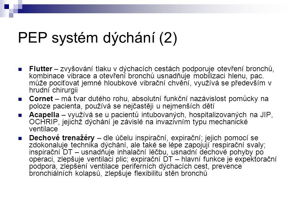 PEP systém dýchání (2)