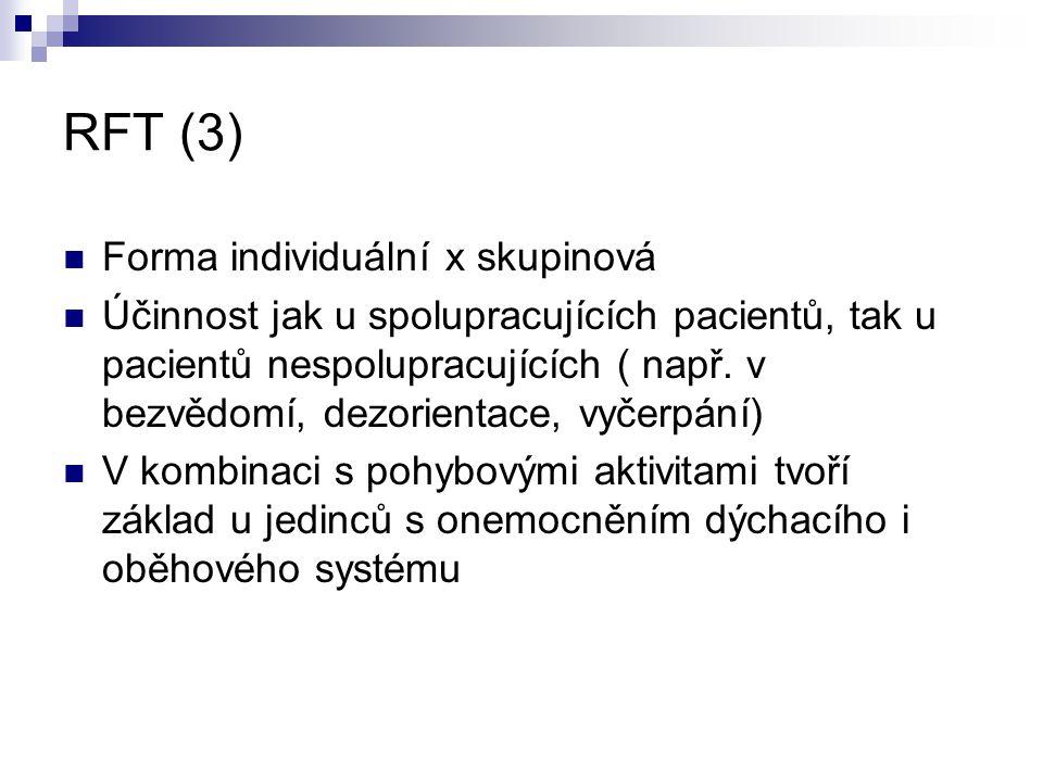 RFT (3) Forma individuální x skupinová