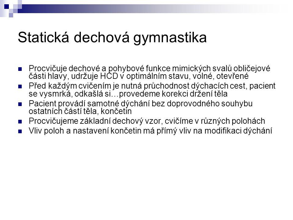 Statická dechová gymnastika