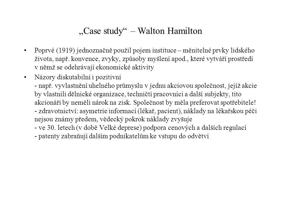 """""""Case study – Walton Hamilton"""
