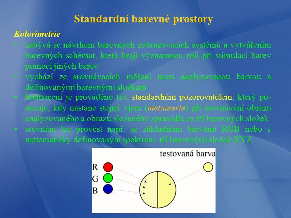 Standardní barevné prostory