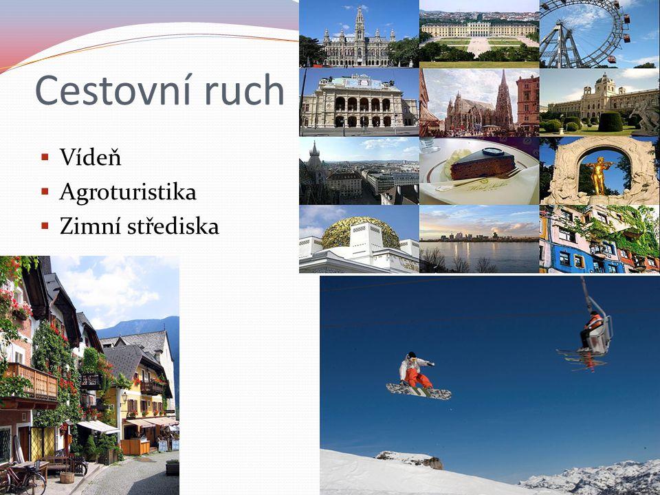 Cestovní ruch Vídeň Agroturistika Zimní střediska