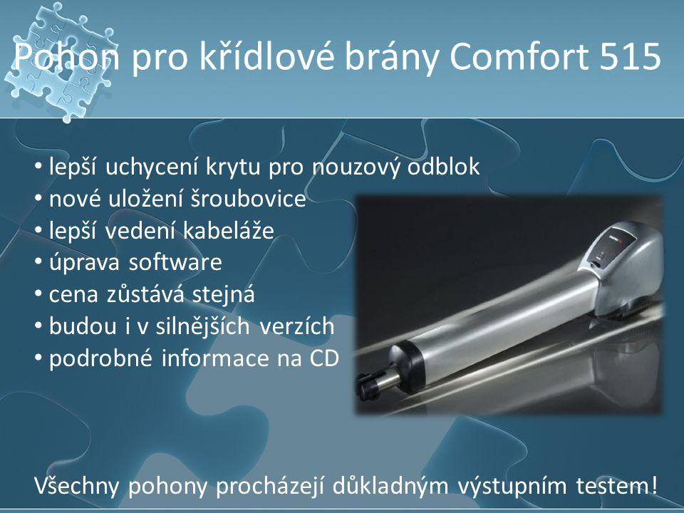 Pohon pro křídlové brány Comfort 515