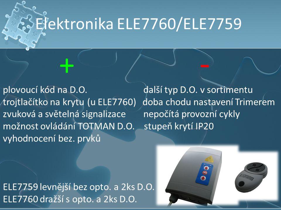 Elektronika ELE7760/ELE7759 + -