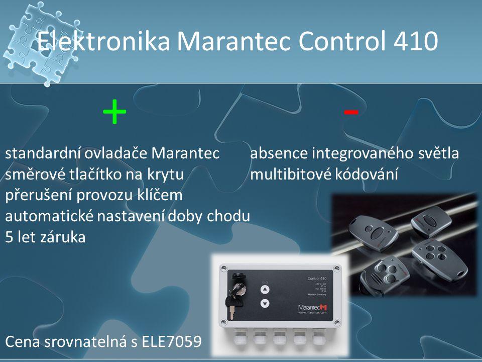 Elektronika Marantec Control 410