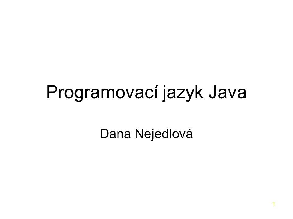 Programovací jazyk Java