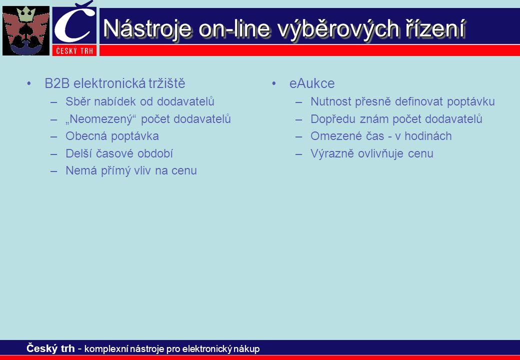 Nástroje on-line výběrových řízení