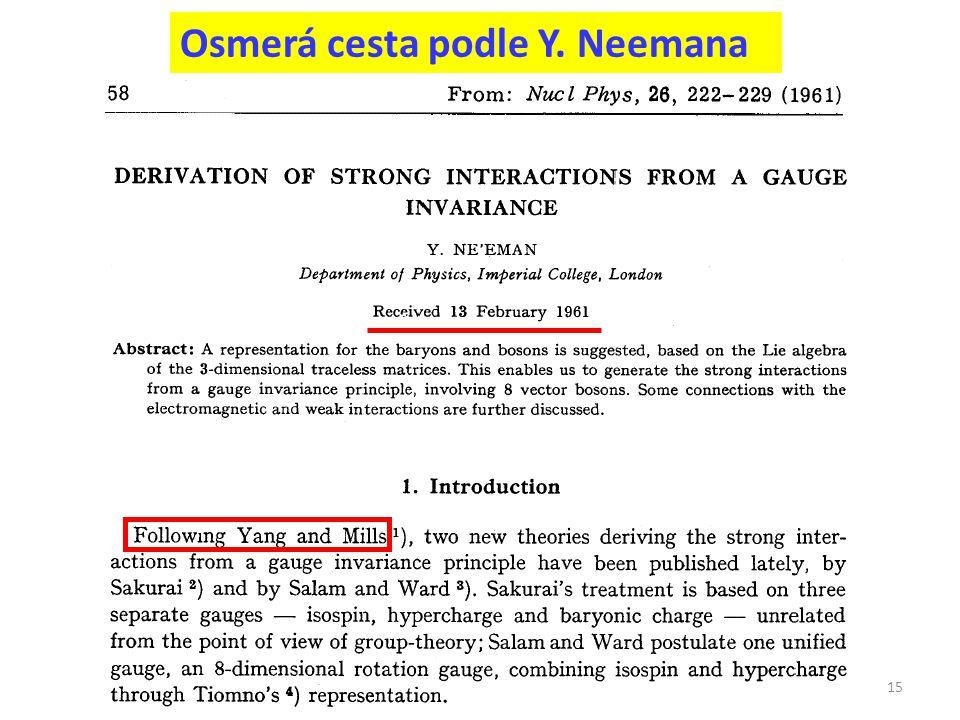 Osmerá cesta podle Y. Neemana