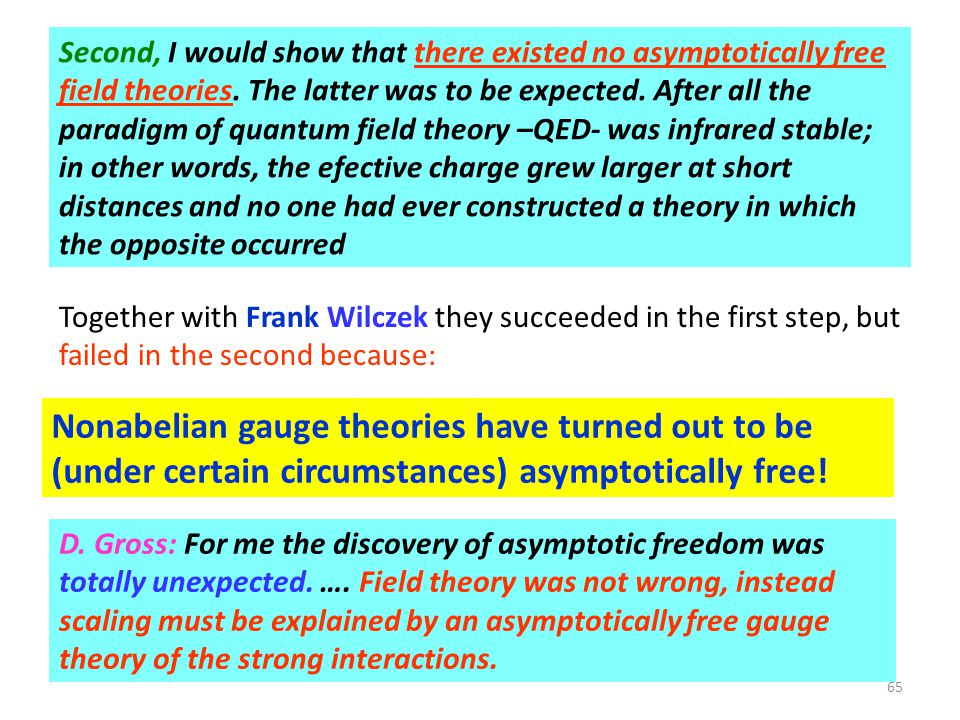 Nonabelian gauge theories have turned out to be
