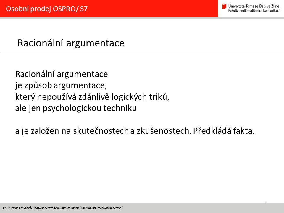 Racionální argumentace