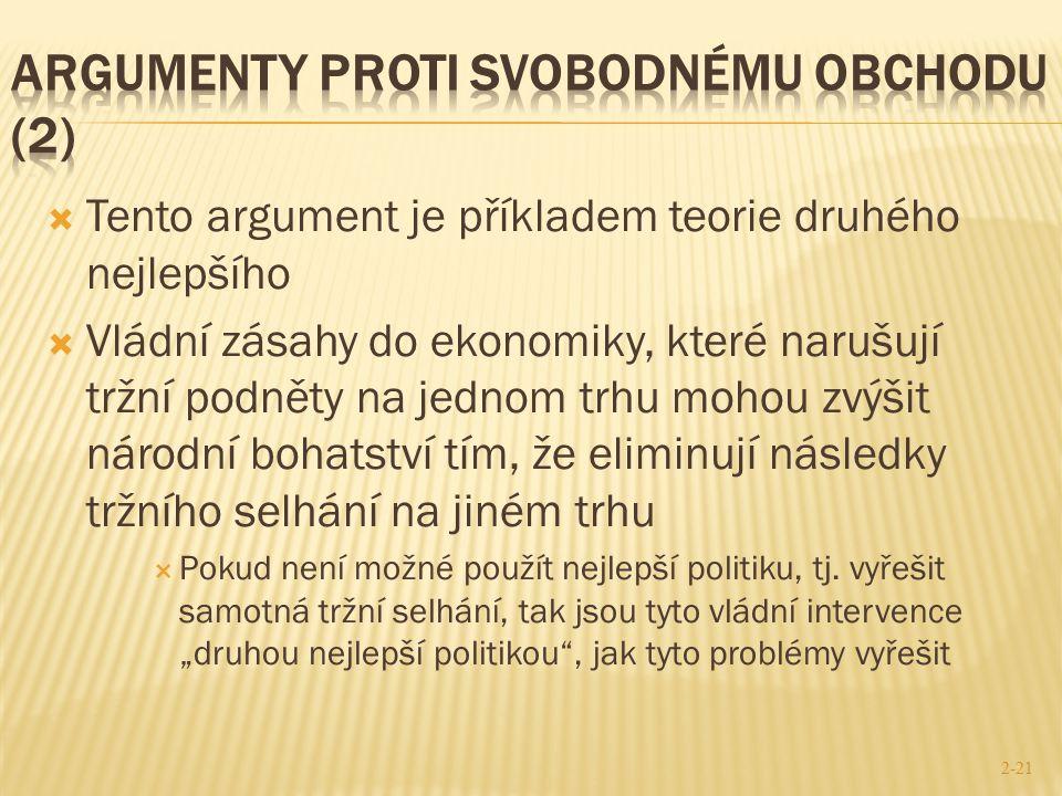 argumenty proti svobodnému obchodu (2)