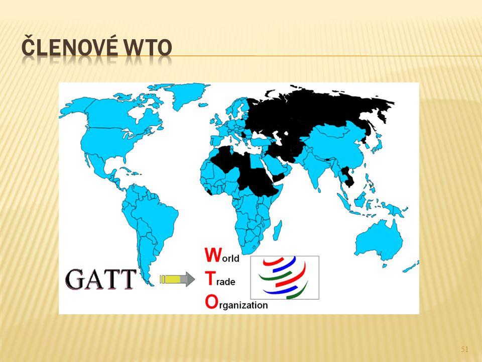 Členové WTO