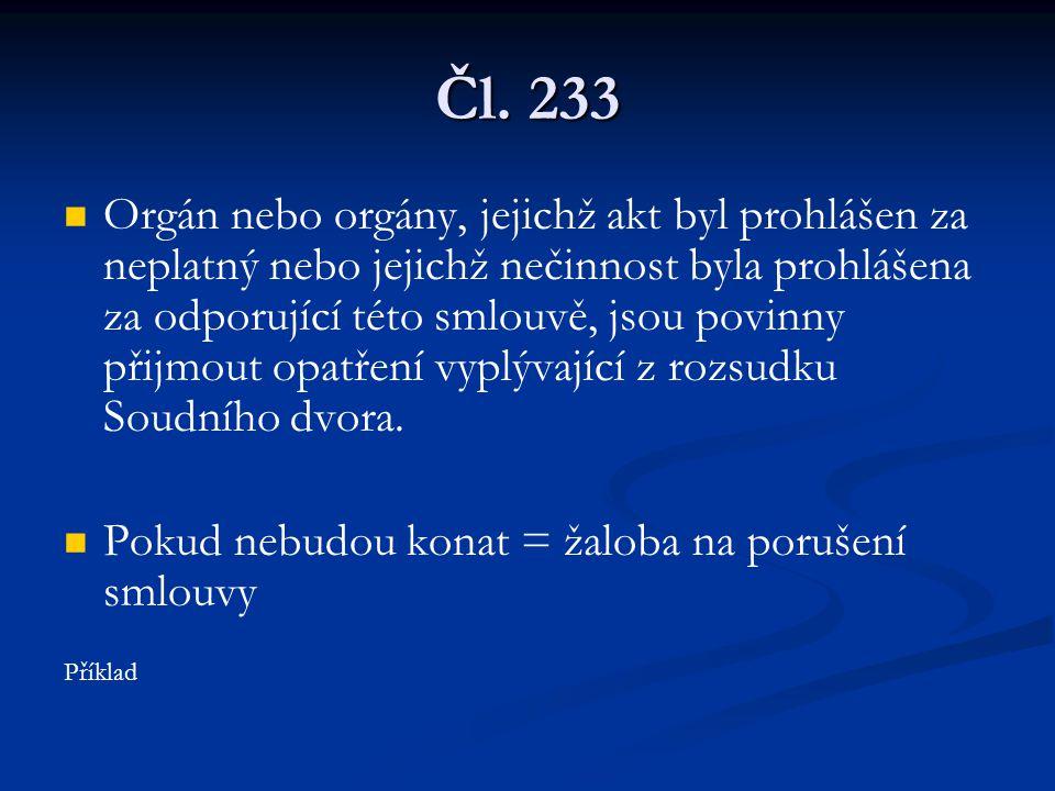 Čl. 233