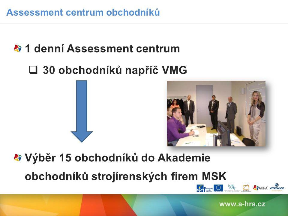 Assessment centrum obchodníků