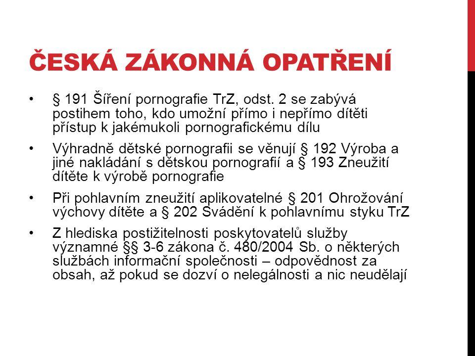 Česká zákonná opatření
