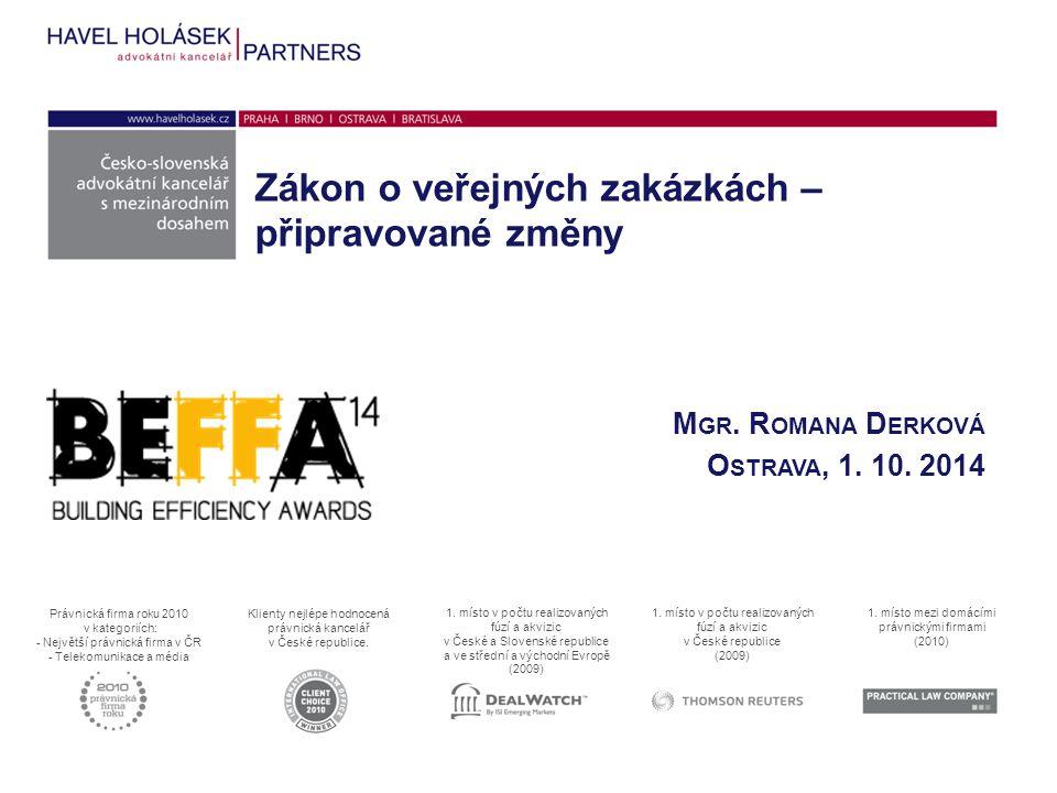 Mgr. Romana Derková Ostrava, 1. 10. 2014