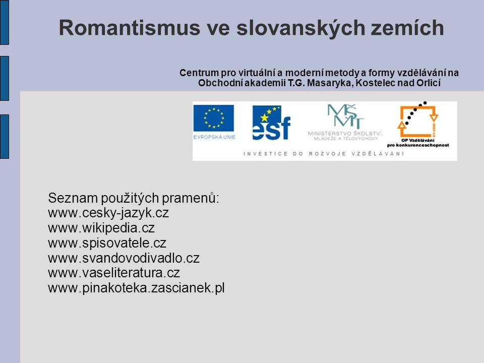 Romantismus ve slovanských zemích