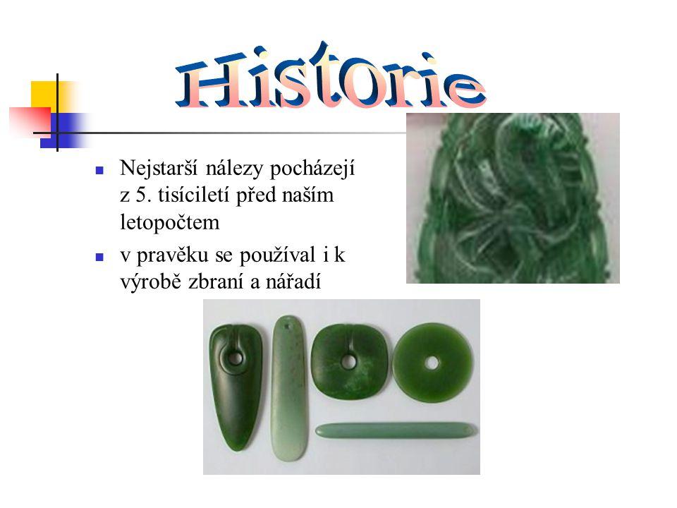 Historie Nejstarší nálezy pocházejí z 5. tisíciletí před naším letopočtem.