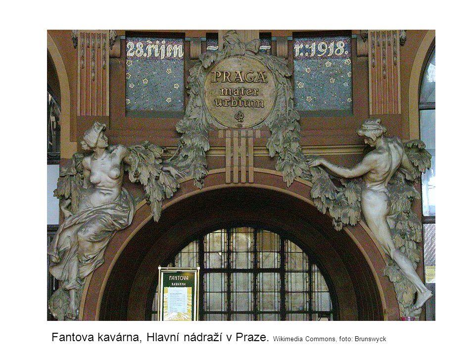 Fantova kavárna, Hlavní nádraží v Praze