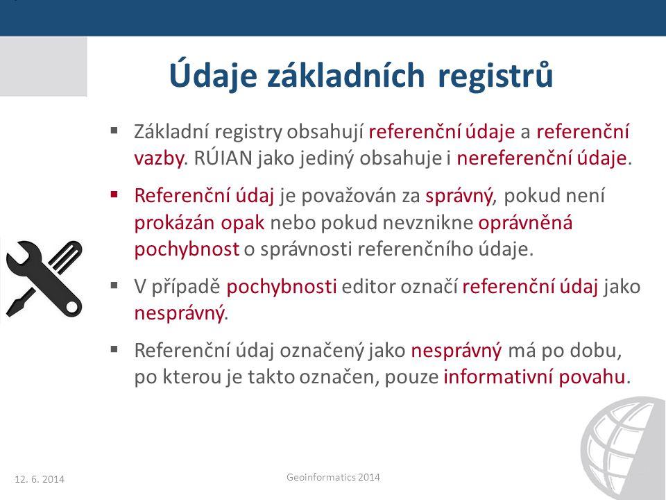 Údaje základních registrů