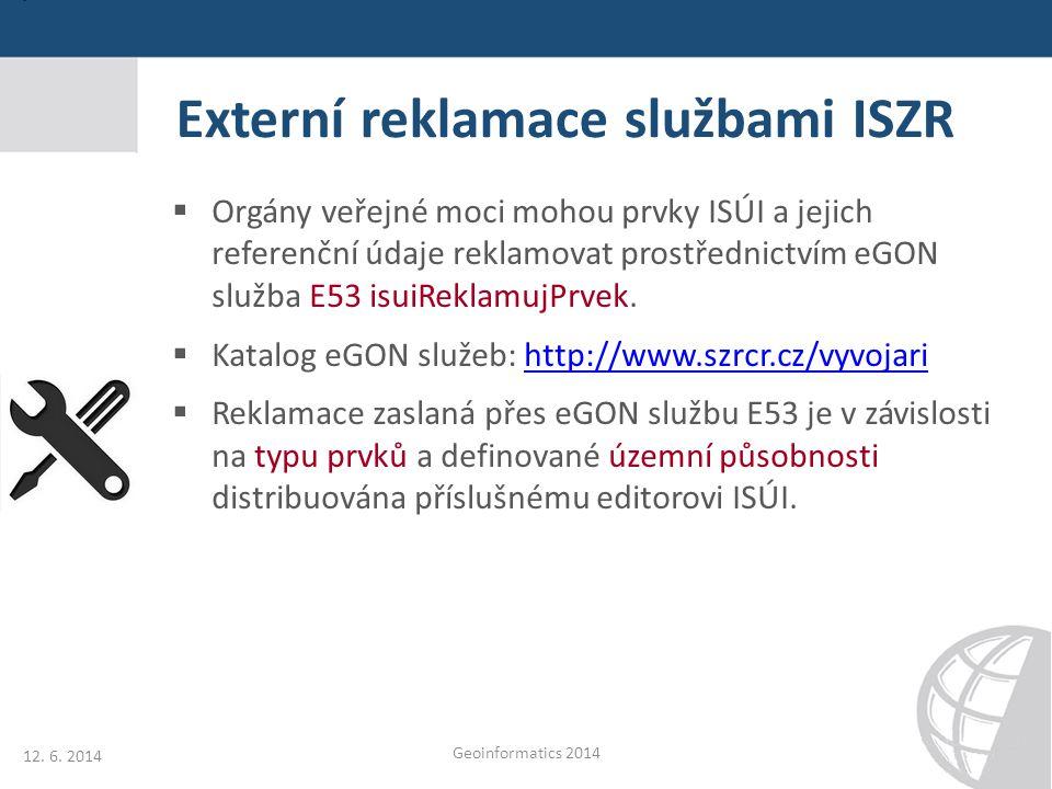 Externí reklamace službami ISZR