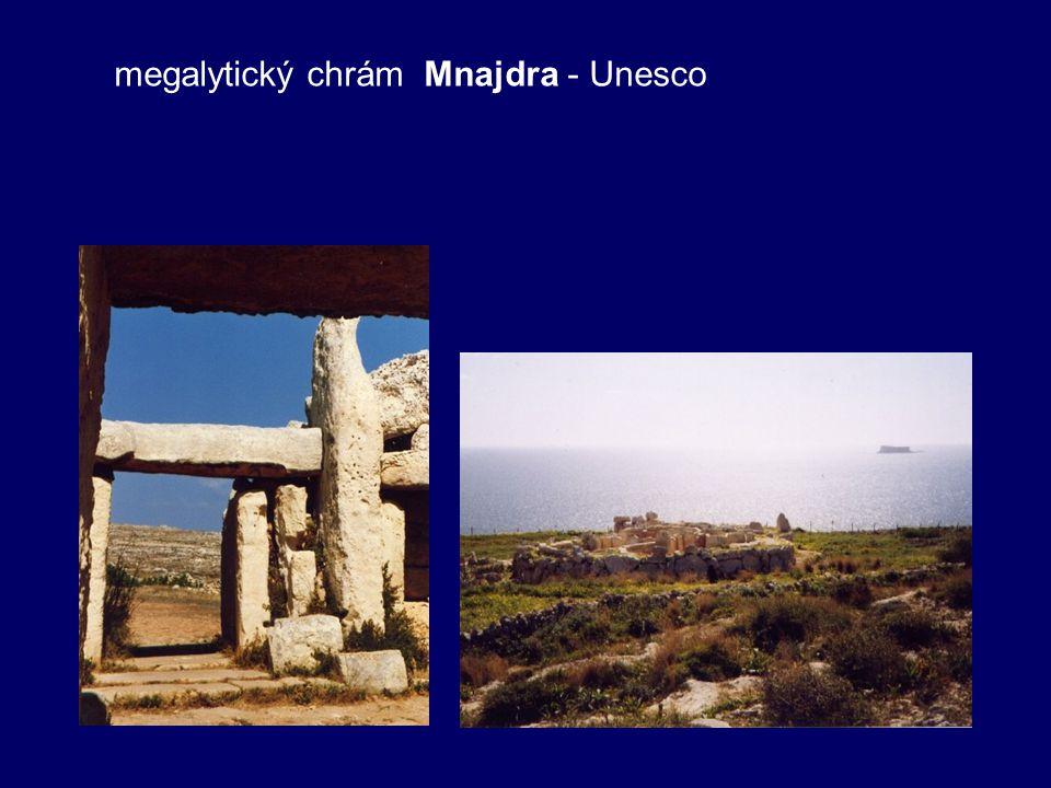 megalytický chrám Mnajdra - Unesco