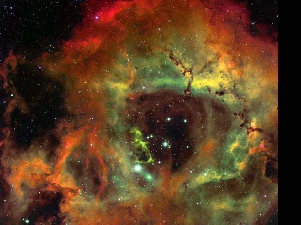 Rozeta (NGC 2237) v souhvězdí Jednorožce