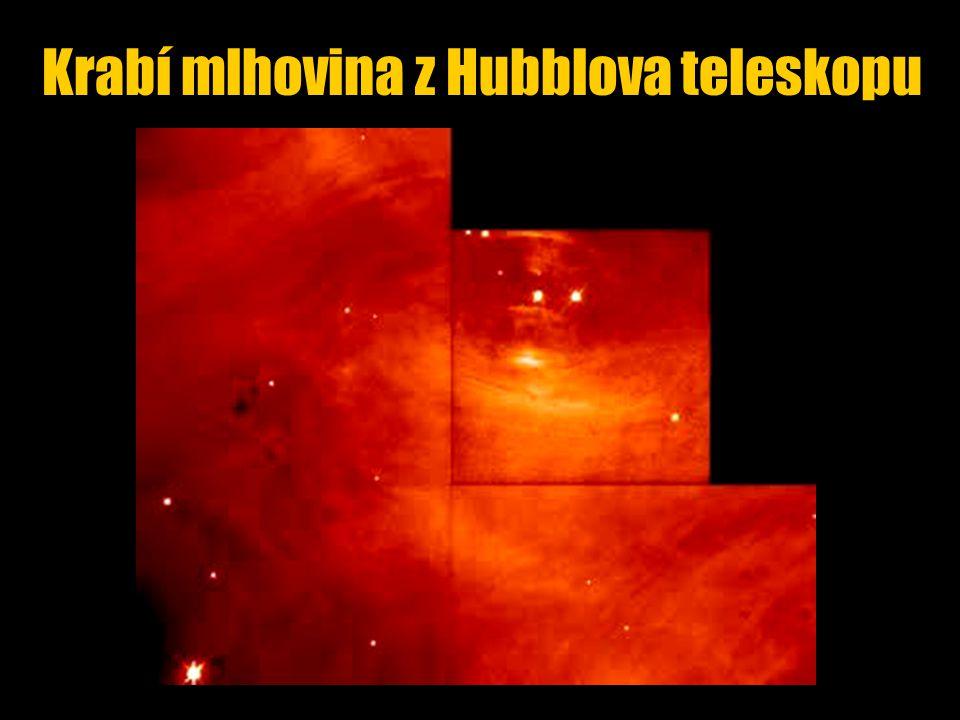 Krabí mlhovina z Hubblova teleskopu