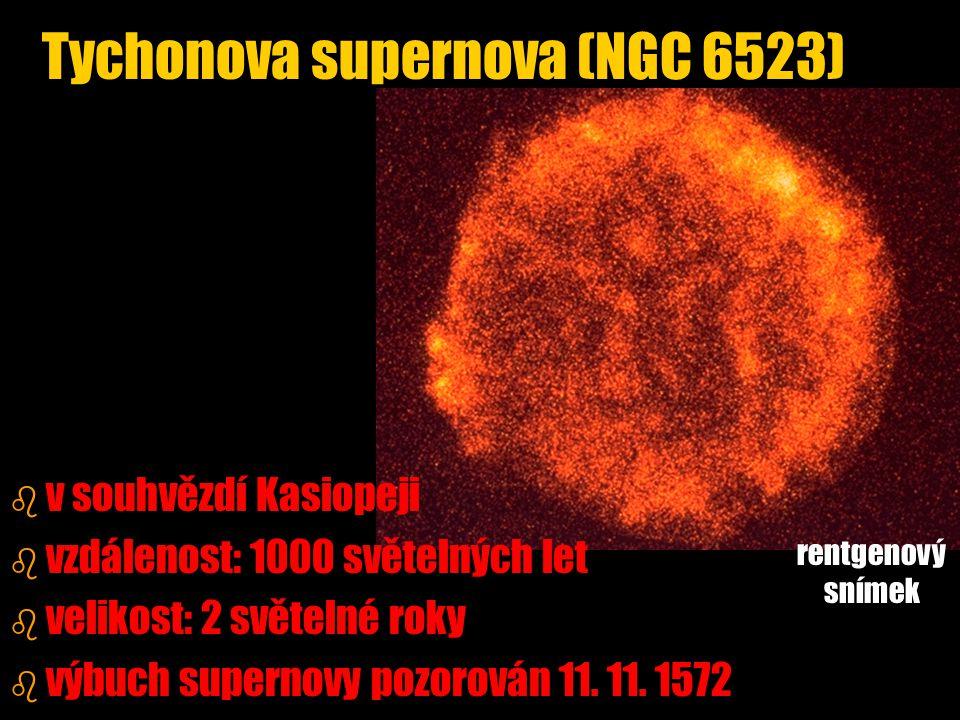 Tychonova supernova (NGC 6523)