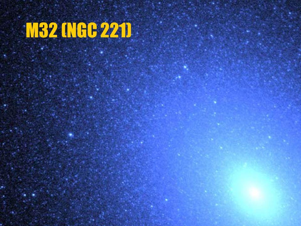 M32 (NGC 221) v souhvězdí Andromedy