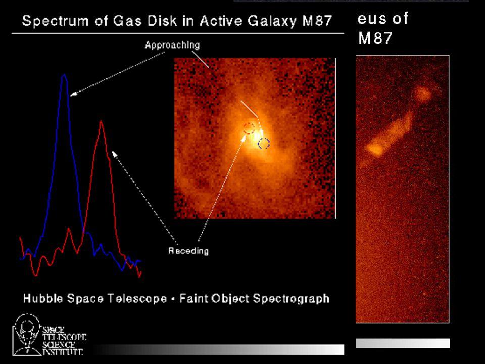 Virgo A (M87, NGC 4486) v souhvězdí Panny (centrum kupy)