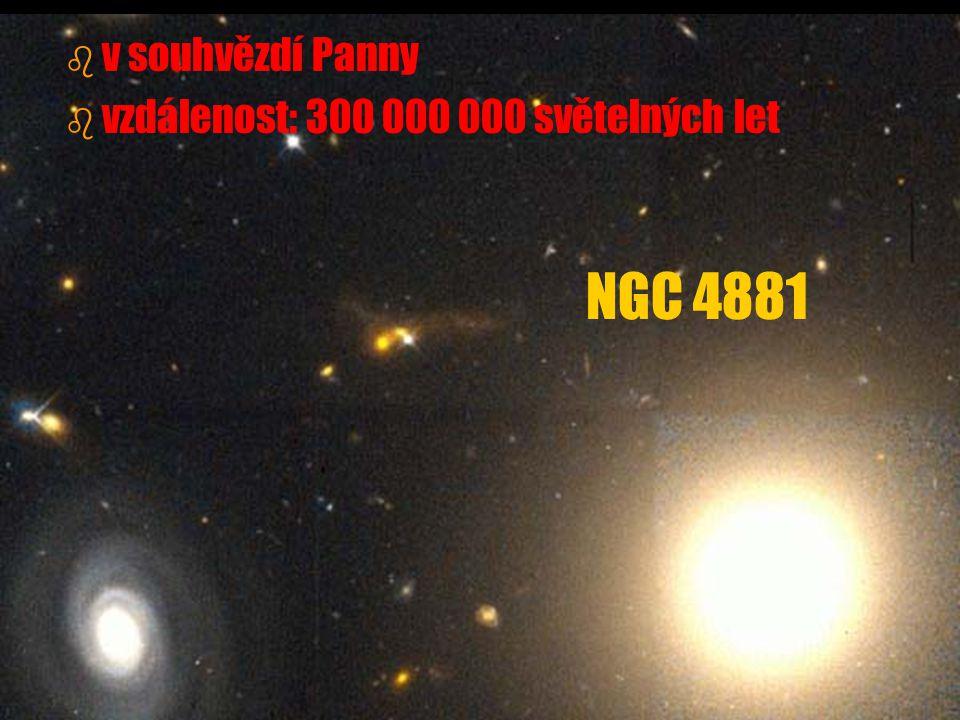 v souhvězdí Panny vzdálenost: 300 000 000 světelných let NGC 4881