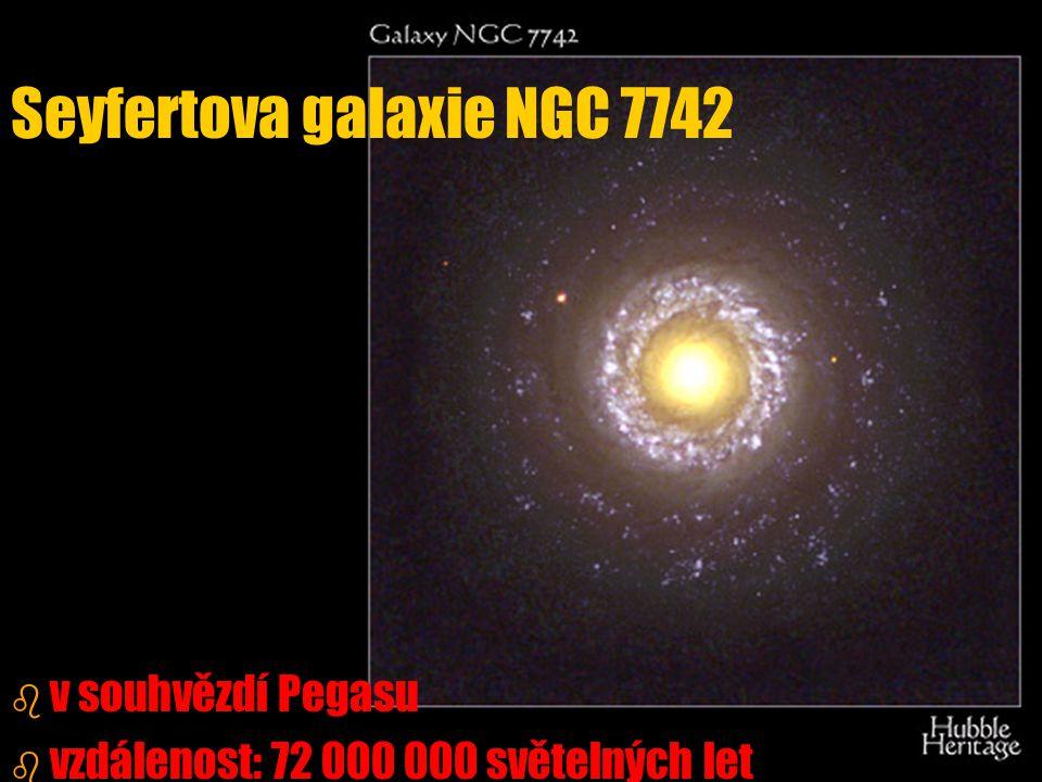 Seyfertova galaxie NGC 7742