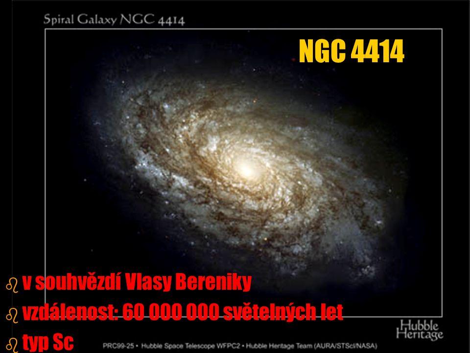 NGC 4414 v souhvězdí Vlasy Bereniky
