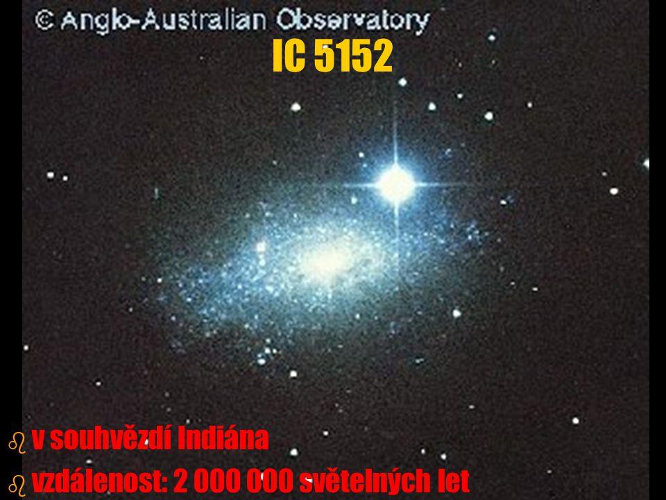 IC 5152 v souhvězdí Indiána vzdálenost: 2 000 000 světelných let