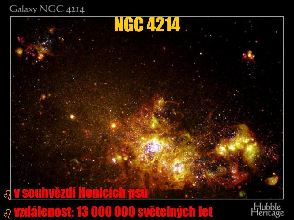 NGC 4214 v souhvězdí Honicích psů