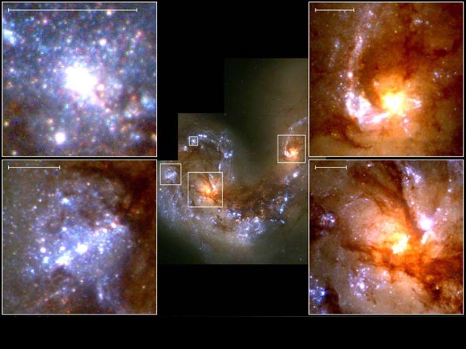 Tykadla (NGC 4038, NGC 4039) v souhvězdí Havrana