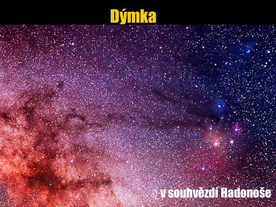 Dýmka v souhvězdí Hadonoše