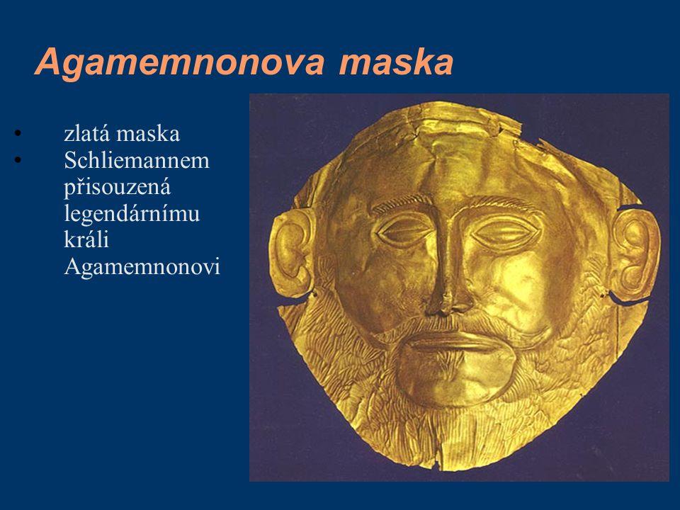 Agamemnonova maska zlatá maska