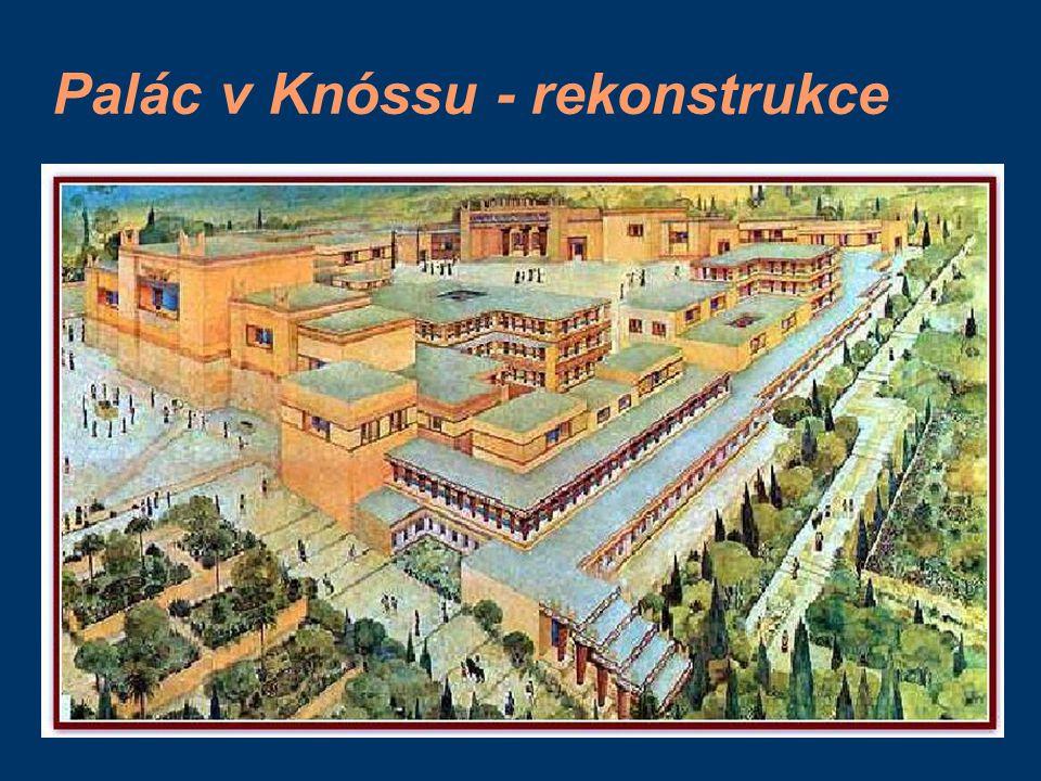 Palác v Knóssu - rekonstrukce