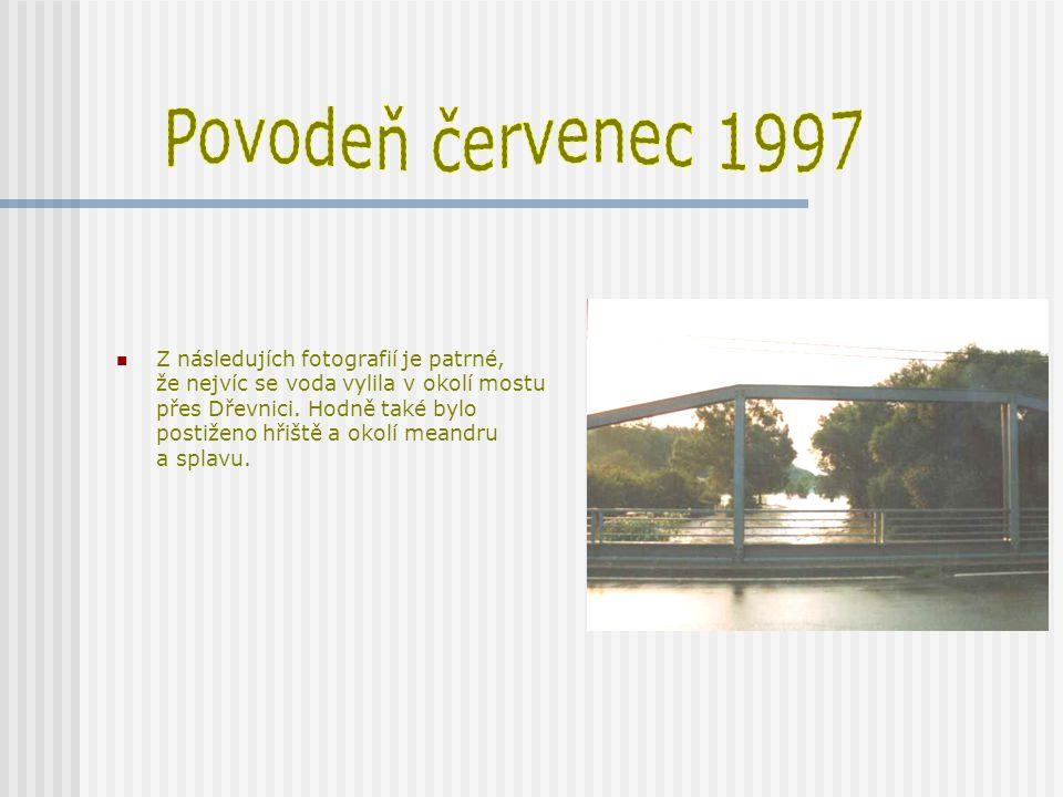 Povodeň červenec 1997