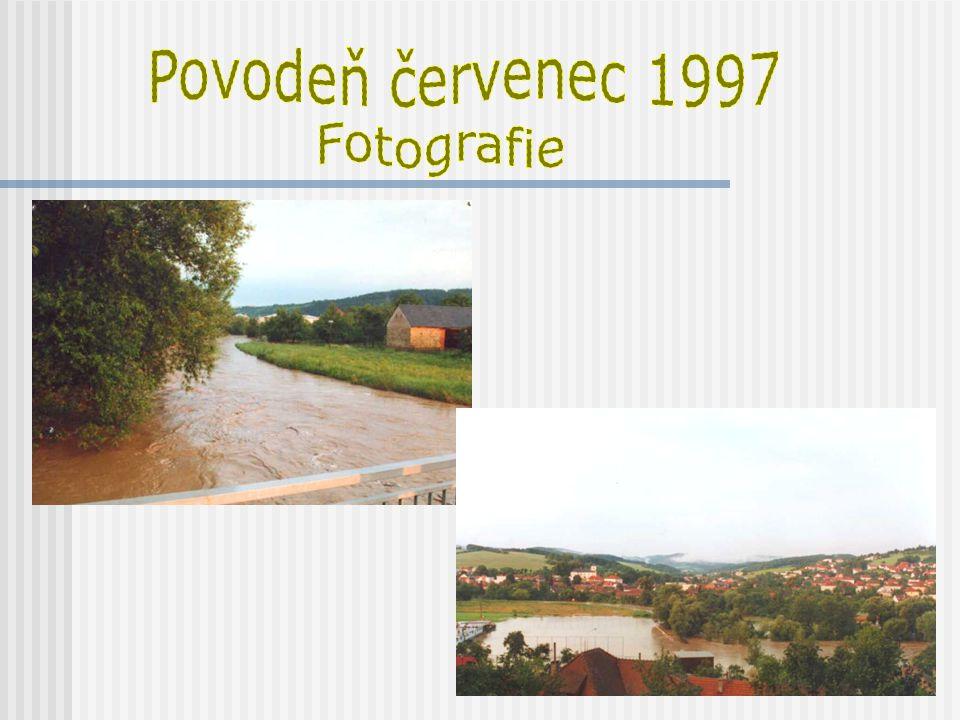 Povodeň červenec 1997 Fotografie