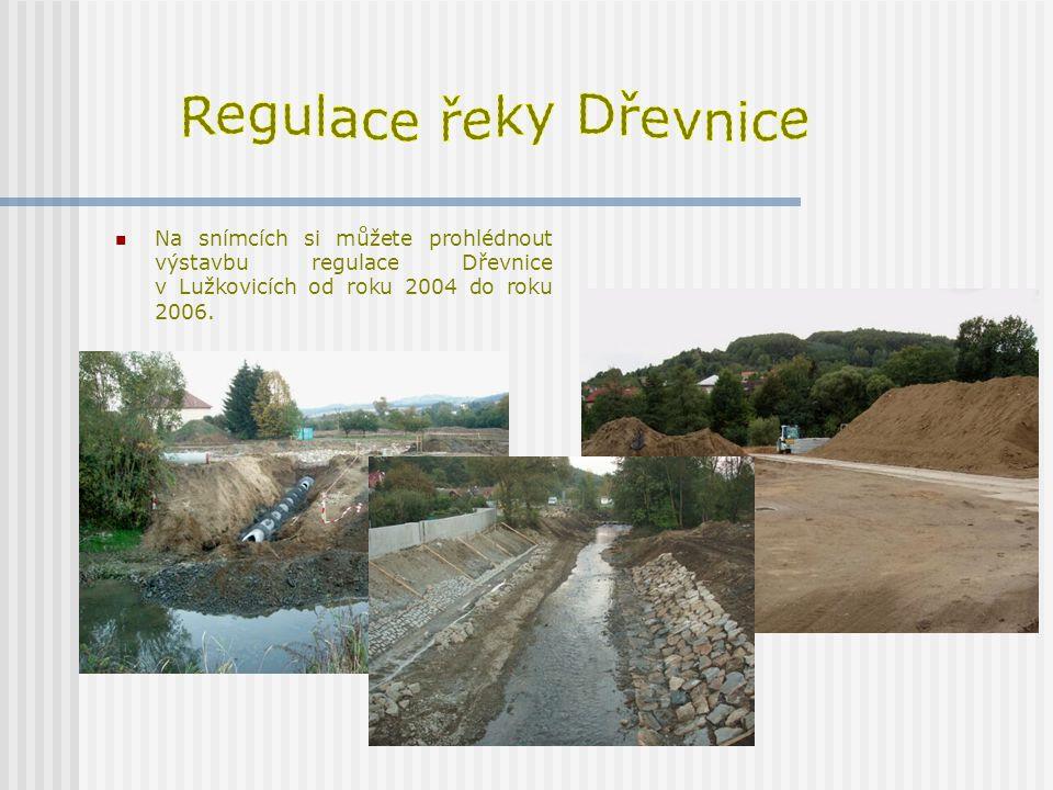 Regulace řeky Dřevnice